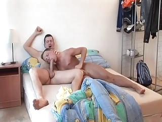 slutty homo dad wakes up and copulates pleasing
