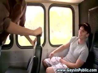 homo amateur chaps public outdoor oral job
