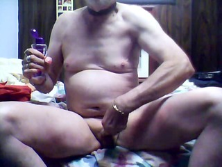 ass-to-mouth with cum overspread plug for ldr