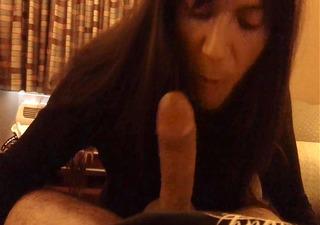 ts latin chick lady-man oral-sex facial marissa