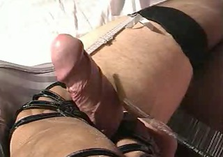 ramrod whipped untill cum, cbt