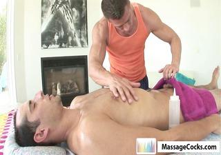 massagecocks amateur oily massage
