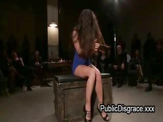 lesbo bondage and dong orgy fuck