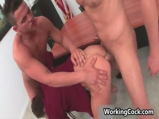 kirk cummings engulf and fuck on office gays