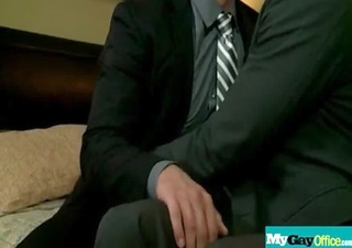 sexy muscled homo studs hardcore fuck in office