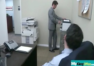 sexy muscled gay studs hardcore fuck in office 63