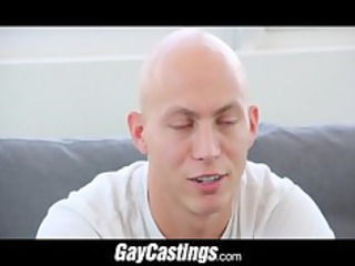 gaycastings bald erotic dancer acquires smooth