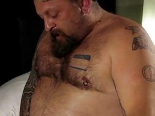 homo engulfing obese tattoed bears jock