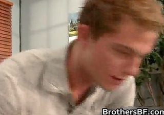 brothers hawt boyfriend acquires shlong sucked
