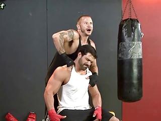gay boxers licking their asshol