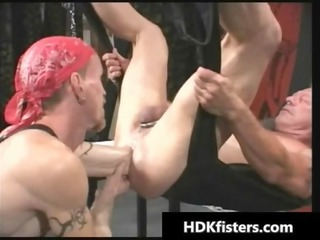 impossible homo hardcore arse fisting homosexual