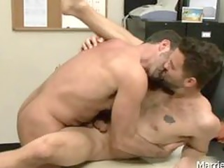 tattooed hunk acquires deep anal fuck part1