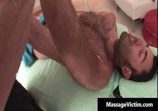 hawt and lascivious guy receives the massage