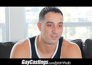 gaycastings uncut guido takes pecker for first