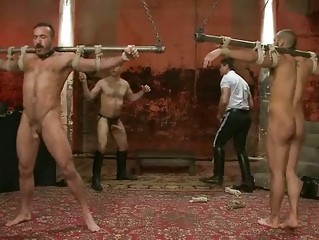 hot chaps caught by homosexual policemen