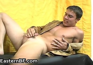excited east european men booty fucking part7