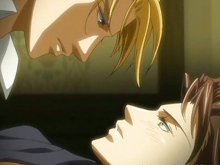 hentai homosexual having anal sex action with his