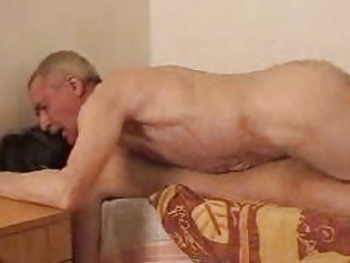 aged homosexual bangs youthful boi doggy style on