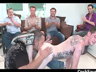 huge homo engulfing and fucking team fuck part3