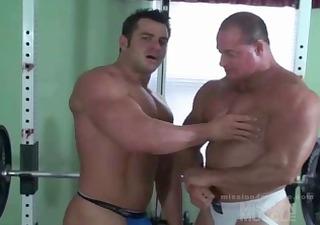 massive bodybuilder s garb
